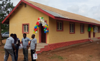 Alumni renovate music studio of Oyo secondary school