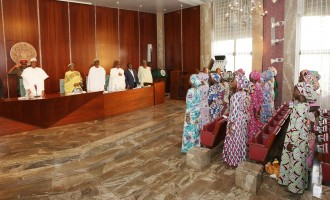 We didn't know we'd come back to Nigeria, Chibok girl tells Buhari