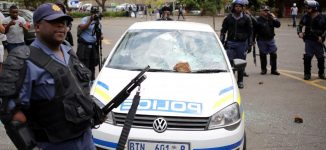'497 arrested' as looting of shops continues in South Africa