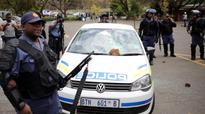 Five Nigerians in hospital after 'attack by South Africa police'