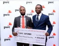 Soyombo, TheCable editor, claims top prize at PwC awards