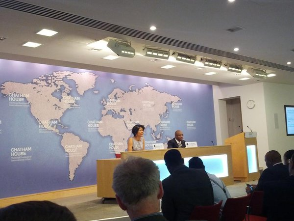 Yemi Kale at Chatham House