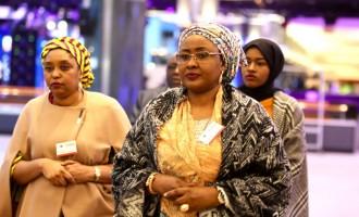 Aisha Buhari pledges support for women, children's health