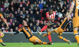 Anichebe's brace lifts Sunderland