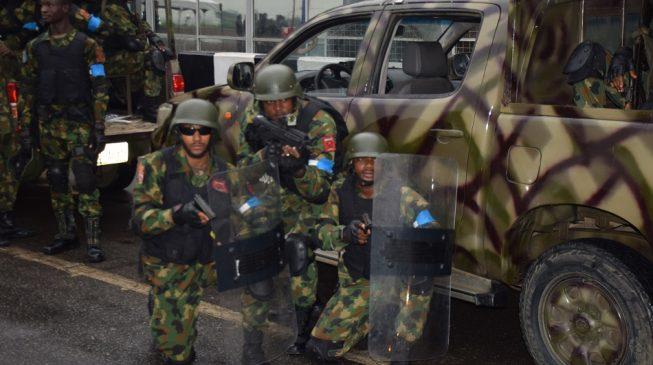 Angry soldiers ground Maiduguri airport, threaten to shoot superiors