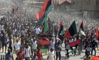 Police arrest 140 IPOB members over 'inciting songs'