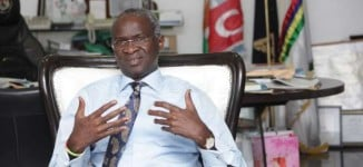 Fashola on falling oil price: We'd re-strategise, NOT abandon our projects