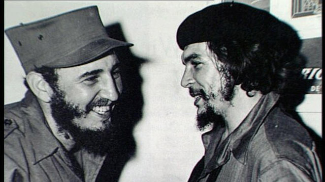 Fidel and Che Guevara