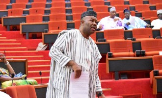 Akpabio resigns as senate minority leader