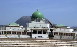 Businesses shut at national assembly ahead of Buhari's budget  presentation
