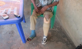 HURRAY! Army finally gives prosthesis to a 'forgotten soldier'
