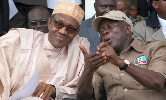 Tight security in Benin as Buhari bids Oshiomhole farewell