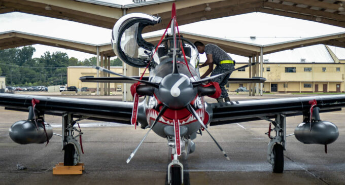 Nigeria orders N157bn warplanes from the US… but there is a little problem