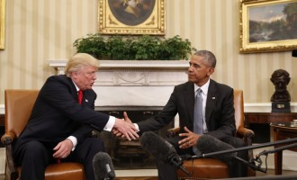 Trump meets Obama, says he respects him alot