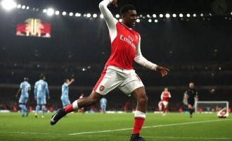 Iwobi, Giroud push Arsenal to 3rd on EPL table