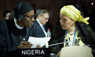 Buhari: I expect Amina Mohammed to keep working until she quits my cabinet
