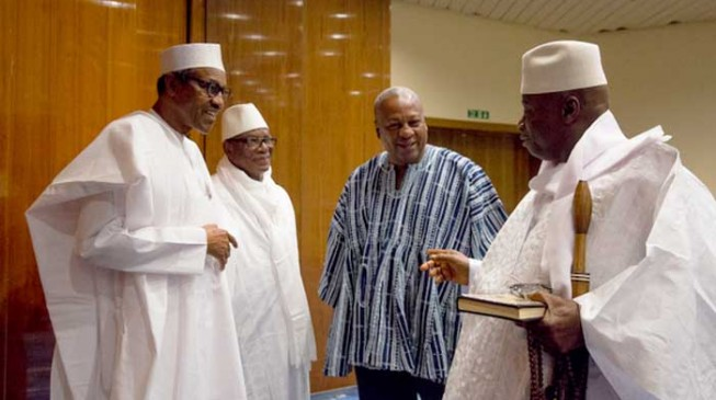 Nigeria will do everything possible to make Jammeh hand over, says Onyema