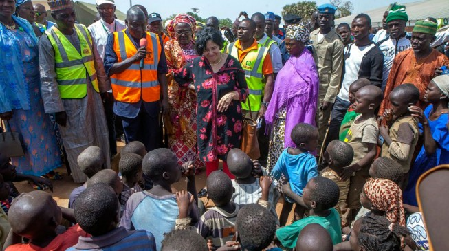 UNICEF: Nearly 1 million children in north-east are displaced