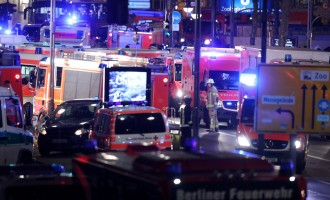Afghan refugee plows truck into shoppers in Berlin, kills 12 injures 48