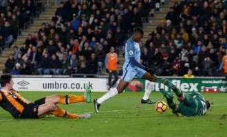 Iheanacho, Toure fire City to second spot