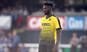 Nigerian duo Success, Moses missing as Chelsea survive Watford onslaught