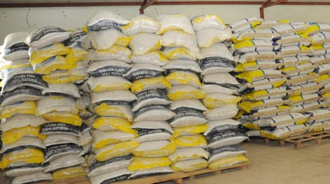 FG donates 5,000 metric tons of rice to World Food Programme