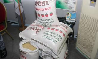 No plastic rice in Nigeria, say Adewole, NAFDAC