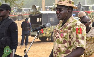 PDP to Buratai: Concentrate on your demanding assignment, NOT politics