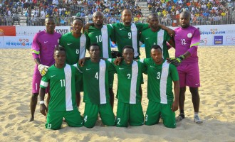 Sand Eagles head to Bahamas for Beach Soccer World Cup