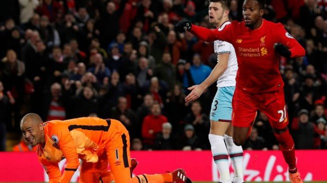 West Ham make it 2 games without a win for Liverpool in Coutinho's absence