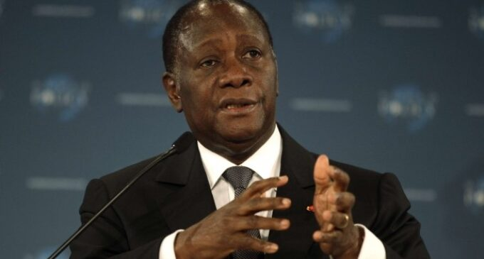 Ivory Coast president sets for victory after contested poll