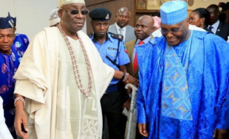 I had no power to remove you, Atiku tells Akiolu