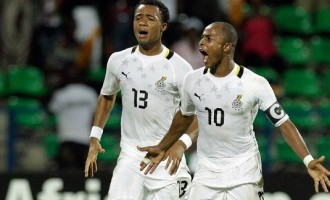 Ayew brothers send Ghana into AFCON semi final