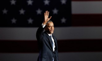 Obama leaving office as 3rd most loved American president
