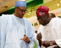 Do all you can to protect democracy, Tinubu tells Buhari
