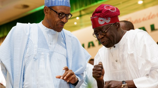 Buhari picks Tinubu to resolve conflicts in APC