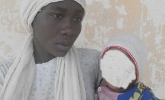 Chibok girl found with six-month-old baby