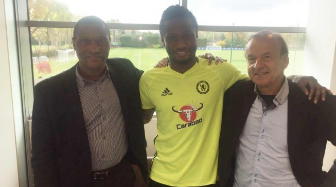 Rohr: Better for Mikel to play in China than stay at Chelsea