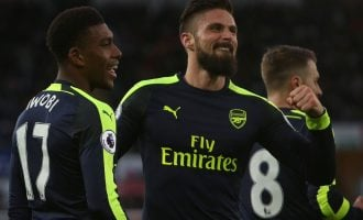 Giroud leads ways a short Gunners stroll past Swansea to 3rd on the log