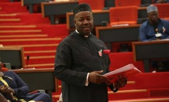 Akpabio: I discouraged PDP senators interested in senate president's seat