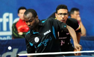 Aruna Quadri partners Omar Assar in doubles of ITTF World Tour