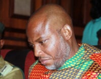 I might have been killed if I did not leave Nigeria, Nnamdi Kanu tells court