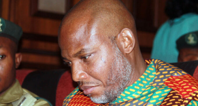 TIMELINE: After almost 4 years of hide-and-seek, Nnamdi Kanu back in DSS net