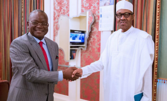 Ortom: Those wishing Buhari dead should confront God