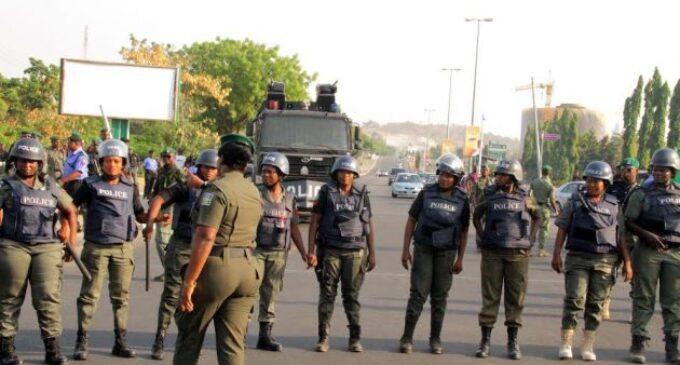 Hundreds of policemen storm BBOG protest ground