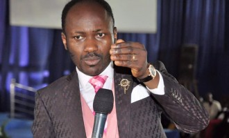 Apostle Suleman: Buhari isn't  a religious bigot… he said 'Amen' when I prayed with him