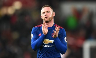 Rooney's Man Utd future in doubt as agent goes to China 'to discuss move'