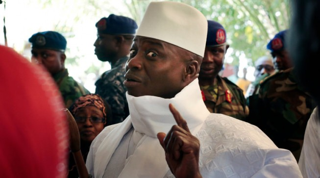 Reps urge Buhari to offer asylum to Jammeh