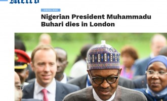 FACT CHECK: Buhari dead? Attempts suicide? Fake news is booming!