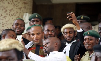 Journalists blanked out of Nnamdi kanu's trial